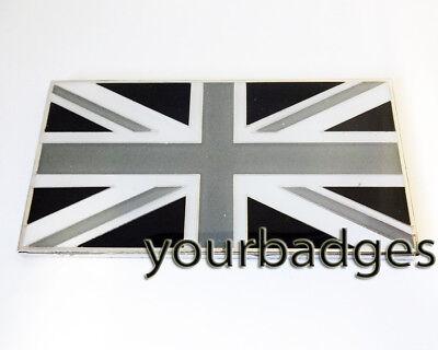 Land Rover Union Jack Metal Enamel Badge Emblem