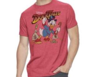 5ddc126e Image is loading DISNEY-DUCKTALES-SCROOGE-MCDUCK-SHIRT-SIZE-S-M-L-XL-