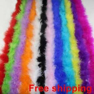 Fur-Strips-Ribbon-Feather-String-Tape-Sewing-Trimming-Craft-Fluffy-Decor-200cm