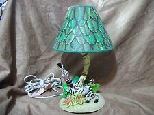 Dream Works Lamp by Hampton Bay Madagascar Movie - Marty the Zebra - Works!