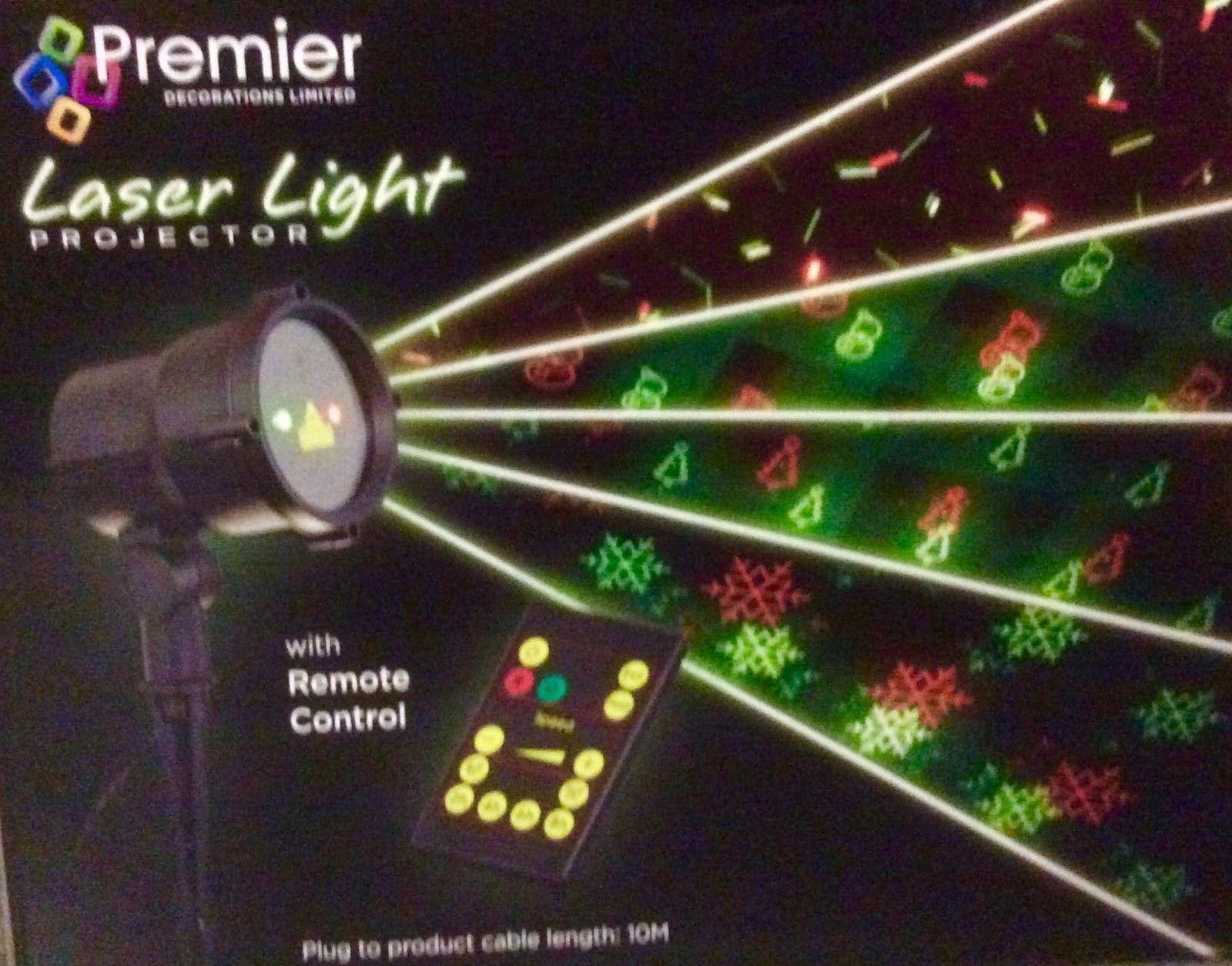 Premier lightprojector 8 Modèle de contrôle à distance laser lightprojector Premier Noël display vente 0d6463