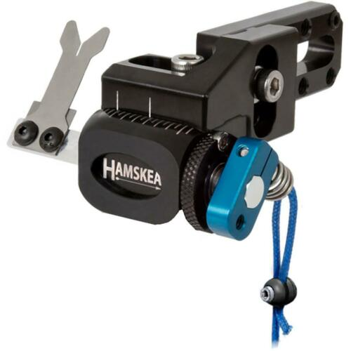 Hamskea Hybrid Target Pro Arrow Rest Blue Right Hand