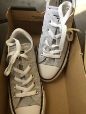 163d3abe12bb Converse Chuck Taylor Madison Oxford Women US 8 Gray Pre Owned 1191 ...