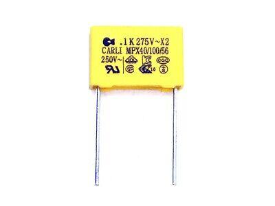 Y549 RM15mm 0,22µF,uF,AC,250V~ 1x Kondensator 220nF X2 275V~ VAC