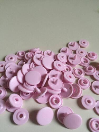 200 10 Pcs sets Matte KAM Brand 16 10mm T3 Matting Plastic Snap Button