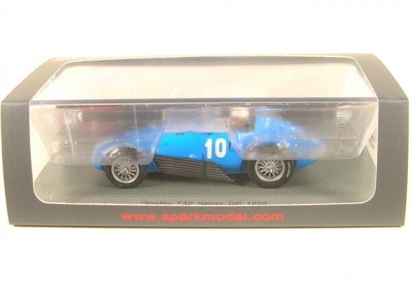 Gordini t32 n. 10 ITALIAN GP 1956 (Robert Manzon)