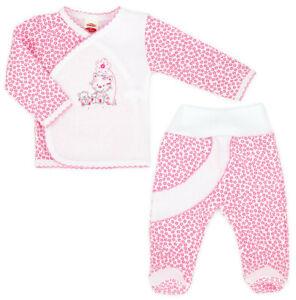 Apprehensive Baby Set Wickelshirt Mit Hose Rosa Neu Mädchen Gr.62 Shrink-Proof Outfits & Sets Girls' Clothing (newborn-5t)