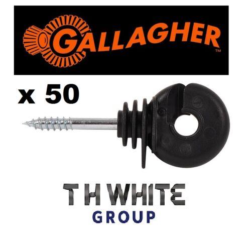 X50 SCEW in Anello Isolatori Recinzione Elettrica Scherma Gallagher (mm)