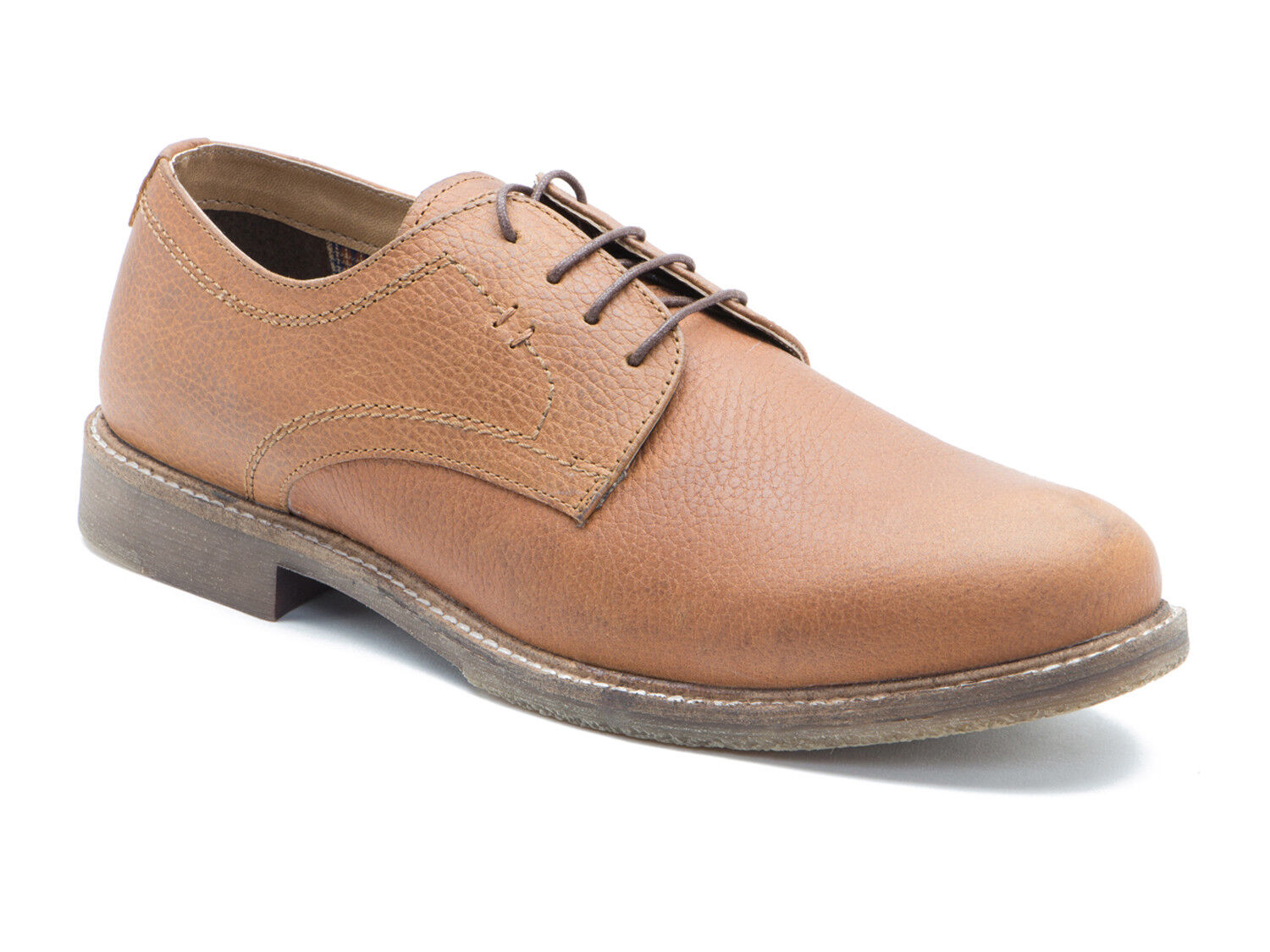 Red Tape Marlow Tan Honey Milled Leather Mens Formal shoes Free UK P&P