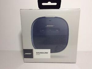 Bose-SoundLink-Micro-Bluetooth-Waterproof-Speaker-Midnight-Blue-New-Authentic