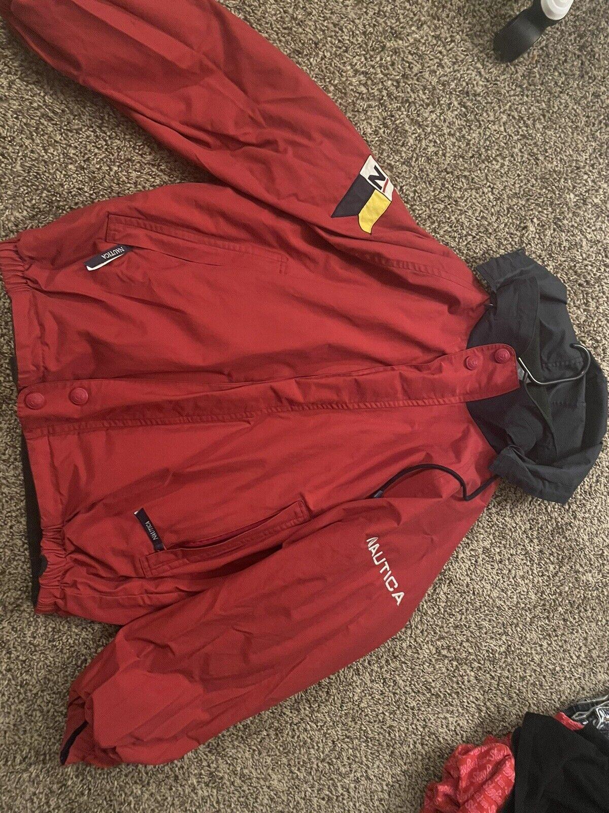 vintage nautica jacket - image 1