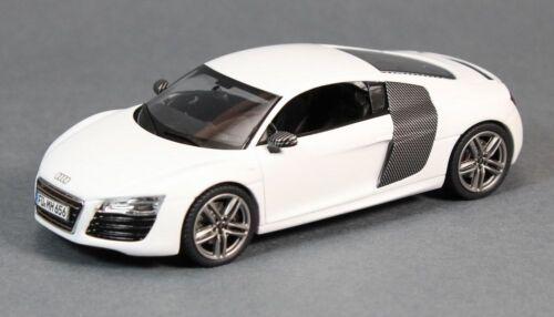 Schuco 450750300 2012 Audi R8 V10 Coupe in White 1:43 Scale Diecast