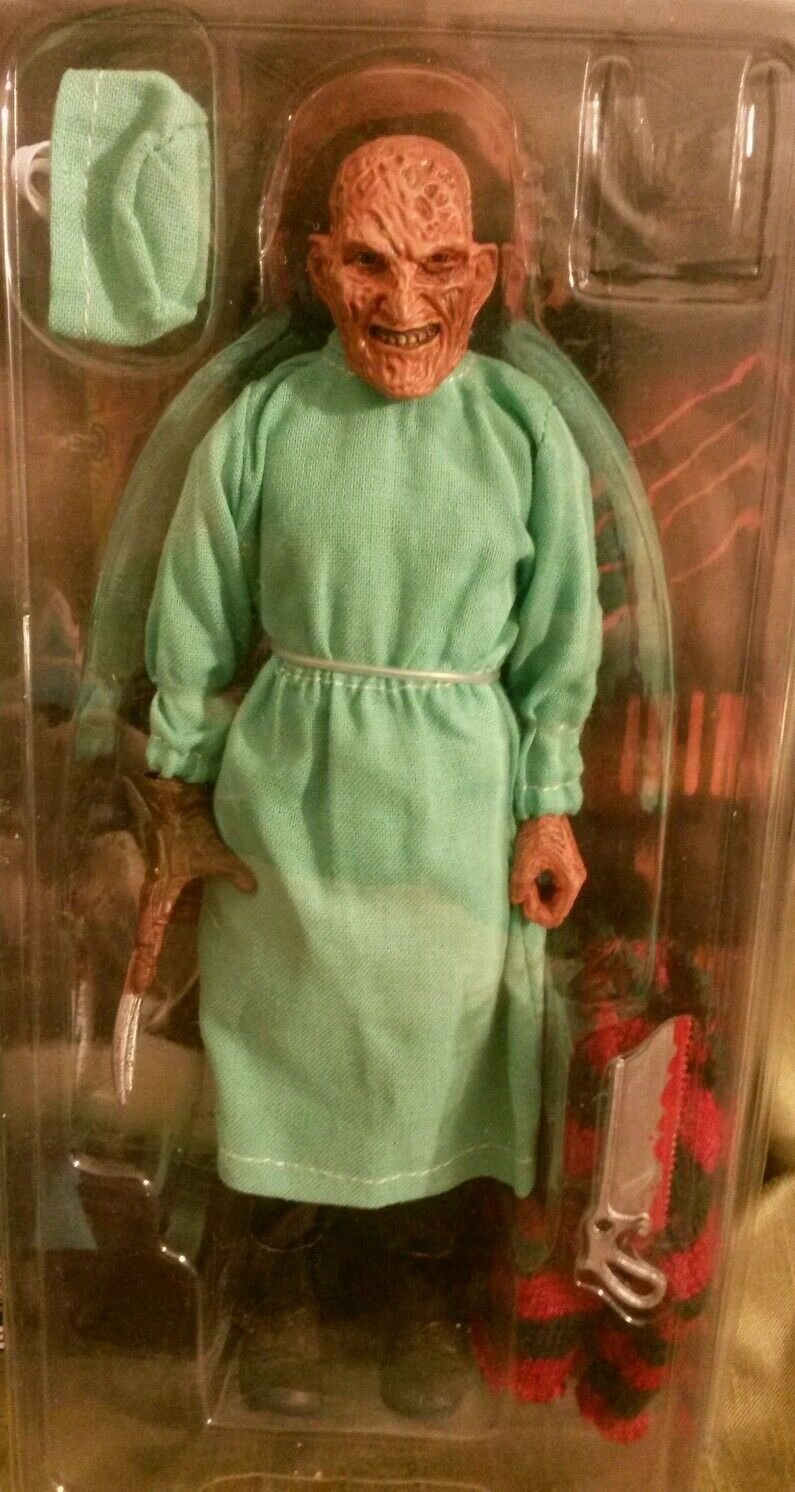 NECA FIGURE CLOTHED DOLL NIGHTMARE ON ELM STREET DREAM FREDDY KRUEGER SURGEON