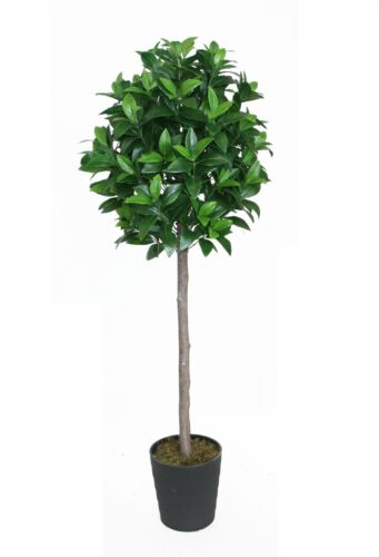 Best Artificial 4ft 120cm Bay Laurel Tree Plant Outdoor Office Conservatory
