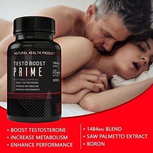 Testosterone Booster Male Enhancement,Pills Improve Sex Performance Stamina 60ct