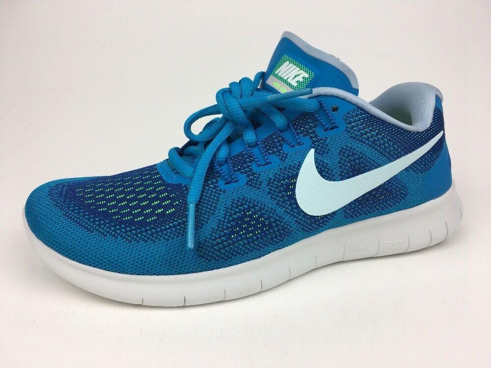 Nike Free RN 2017 2017 2017 Gym bluee Glacier bluee 880840-401 Women's SZ 6 fbd751
