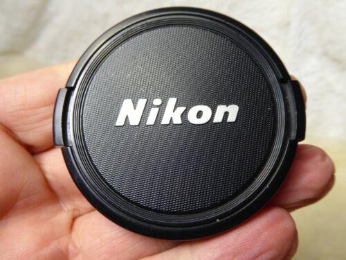 Genuine original Nikon  62mm  Clip on Front  Lens cap  excellent ref4