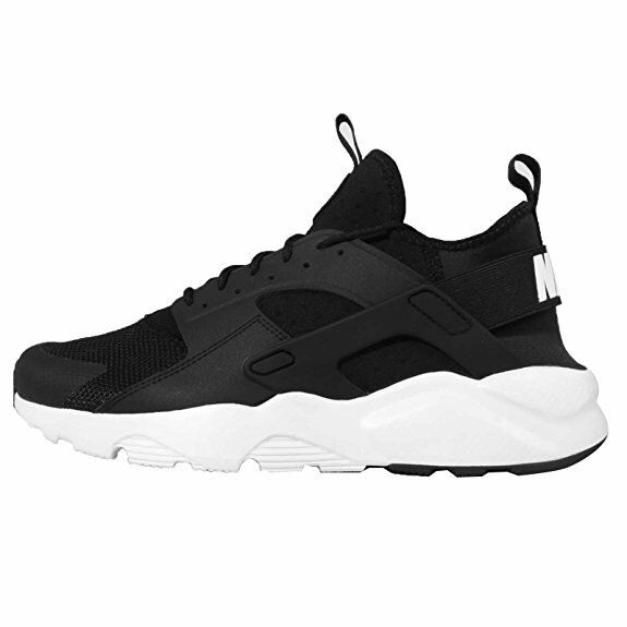 Homme Nike Air Huarache Run Ultra, 19685001, Noir/Blanc