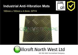 anti vibration tapis machine laver s che linge 100mm x. Black Bedroom Furniture Sets. Home Design Ideas