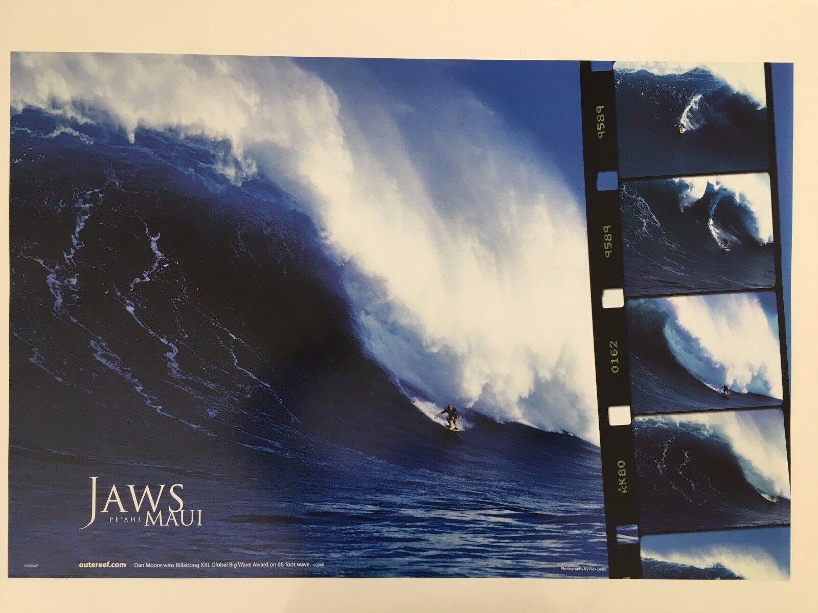 Dan Moore gana Billabong XXL global Big Wave, Maui, surf, con licencia 2006 Cochetel