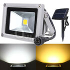 10W Solar Exterior LED Lampara proyector NightLight Foco Jardín casa Impermeable