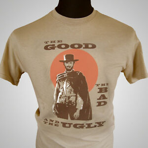 The-Good-The-Bad-and-The-Ugly-Movie-Themed-Retro-T-Shirt-Clint-Eastwood-Film