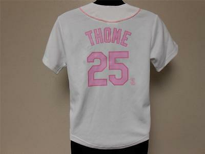 Fanartikel New-dirty Jim Thome Weißes Sox Jugendliche M 12-14 Majestätisch Trikot 25ow Unterscheidungskraft FüR Seine Traditionellen Eigenschaften