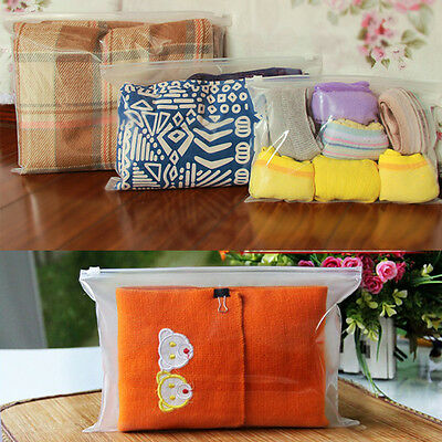 Cosmetic Makeup Toiletry Wash Zipper Bag Transparent Clear Travel Portable Gift