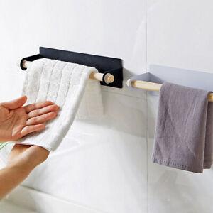 HD-Stickup-Wall-hanging-Storage-Rack-Toilet-Paper-Towel-Holder-Hanger-Kitchen-T