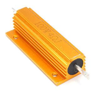 Gold-Aluminum-Clad-Power-Resistor-Resistance-100W-4-Ohm-4R-I6M9