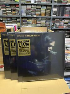 Neil Young Live 22/01/1971 LP Young Shakespeare Versiegelt 2021