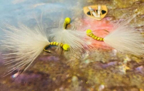 V Fly Size 10 Barbless Ultimate Puddle Bug Stalking Bug Tactical Trout Flies