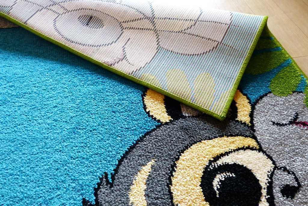 Kinderteppich Teppich Kinderzimmer Spielteppich Tiere Tiere Tiere türkisblau 6 Größen | Günstige Preise  310195