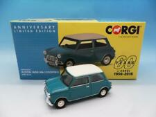 Corgi va02538/Austin Mini MK1/Cooper S 60th Anniversary Collection Modell Surf Blau