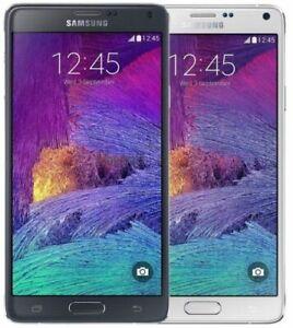 Samsung Galaxy Note 4 Iv N910v Verizon Unlocked Good Condition 7 10 With Warrant Ebay