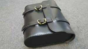 Royal-Enfield-Leather-Pannier-Saddle-Luggage-Carrier-Bag-in-Black-Colour