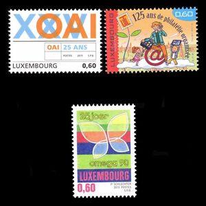 Luxembourg-2015-Commemorative-serie-philatelie-Art-Enfants-SC-1397-9-neuf-sans-charniere