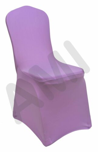 NEW PREMIUM or STANDARD SPANDEX LYCRA BANQUET WEDDING CHAIR COVERS 1 6 10 50 100