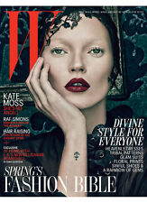 W Magazine,KATE MOSS, Patricia van der Vliet,Raf Simon,Brie Larson,Afef Jnifen