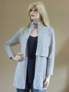 John St Coat Grey Alpaca 595 Soft small New Melange Light Nwt S Sweater B4qwBrd