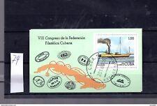 Block 74 Havanna 8 Internationale Briefmarkenausstellung