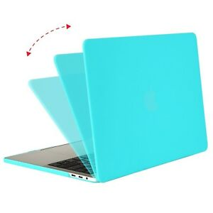 "Hard Case Macbook Air 11 "" A1370/A1465 2012 Turquoise Mat Touch"