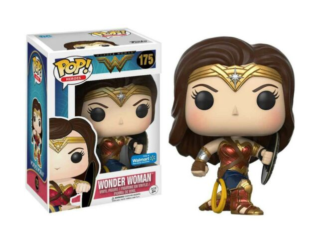 Heros DC Movies Wonder Woman #175 Vinyl Action Figure NIB Funko POP
