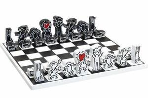 Keith-Haring-jeu-d-039-echec-neuf-not-banksy-shepard-obey-jr-jef-aerosol-or-invader