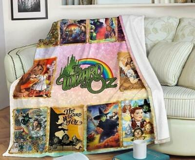The Wizard Of Oz On Stage Fleece Blanket Fan Gift Quilt Blanket