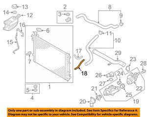 kia oem 11 13 sorento 2 4l l4 radiator oil cooler tube 254272b800 ebay rh ebay com 2014 Kia Sorento Parts Diagram 2004 Kia Sorento Vacuum Diagram