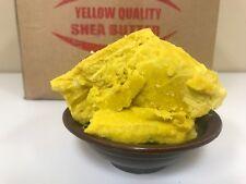 Raw SHEA BUTTER Unrefined Organic YELLOW/GOLD Pure Premium Quality 2oz- 50Lbs
