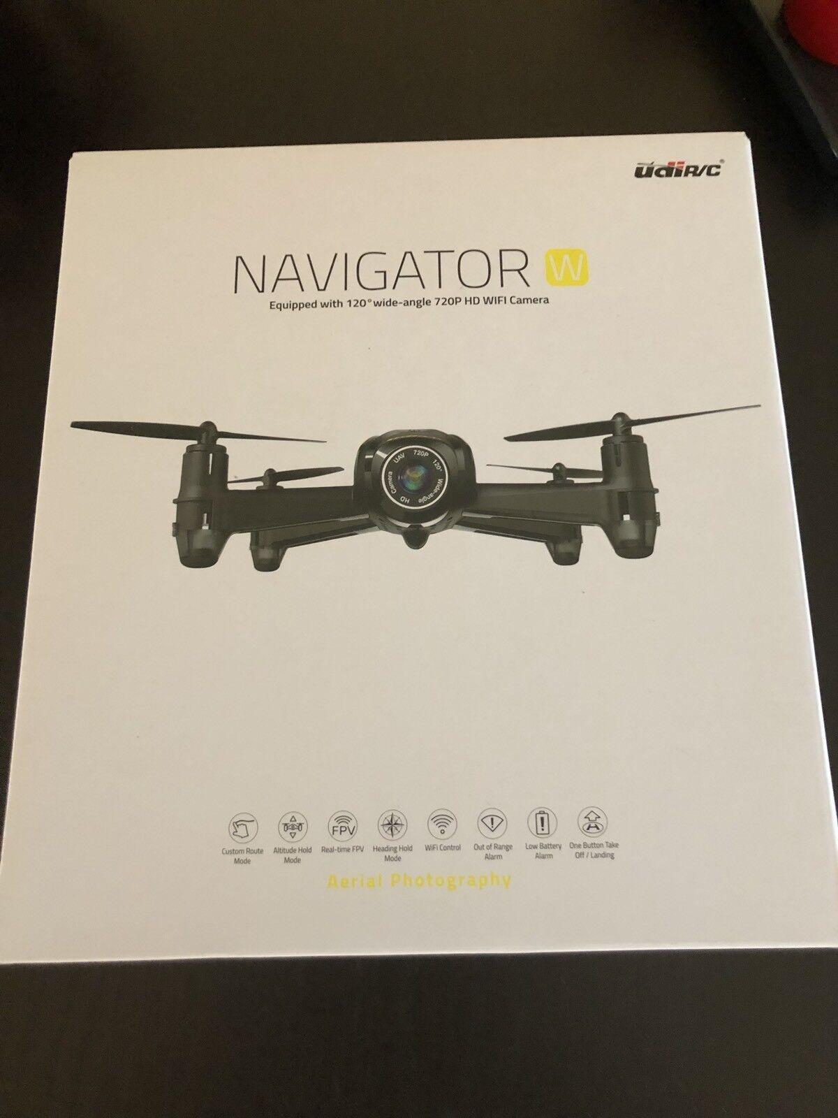Potensic drone U36w Hd 720p Wifi Navigator Quadricottero Fotocamera Fvp Monitor