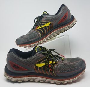 b2542cb2b29 BROOKS Mens Glycerin 12 Running Shoe 14 D omni Groove Super DNA Gray ...