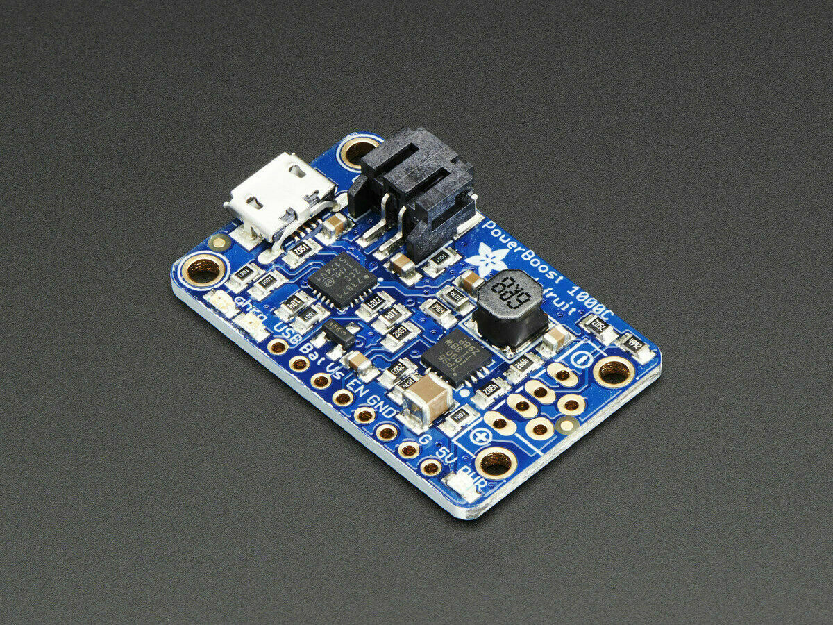 [3DMakerworld] Adafruit PowerBoost 1000C Charger - 5V Lipo USB Boost @ 1A